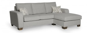 ORLEAN chaiselongue (BEECH 22 silver) softnord lyragroup