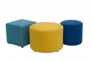 Footstools sofa scandinavian style softnord