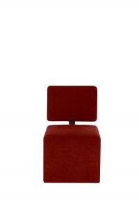 NERO chair (LUIZA 1 red) (2) softnord lyragroup
