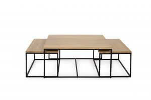TRIPPLE table LACQUERED sofa scandinavian style softnord